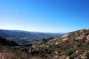 Looking out over Simi Valley
