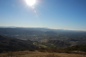 High above Simi Valley