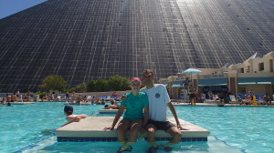 Me and my best girl... Next to a pyramid!!!